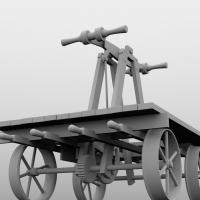 A Railroad Handcar